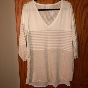 "Maurices Plus Size 3/4"" Sleeve Sweater 